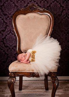 Ivory Tutu Baby Dress by House of Tutus(photo by Jana Hill)