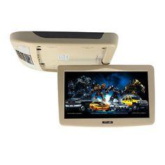 10 Inch Car Roof Mount Monitor TFT LCD Flip Down 12V Monitors