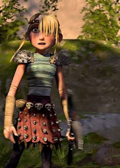 Astrid after seeing HTTYD2 Hiccup. lol XD