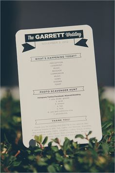 Wedding Photo Scavenger Hunt | 15 Crucial Items You Need On Your Wedding Day, According To Pinterest