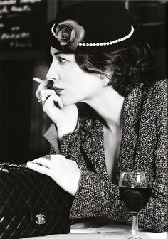 """Cate Blanchett as Coco Chanel - Photo by Karl Lagerfeld - Publication: """"Coco No.2"""" Vogue Australia, December 2003"""