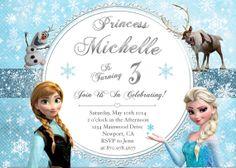 Disney's Frozen Birthday Invitation - PRINTABLE- Twin or Sibling Invitation on Etsy, $10.99