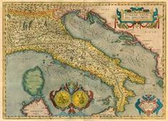 Image result for ancient map of italy