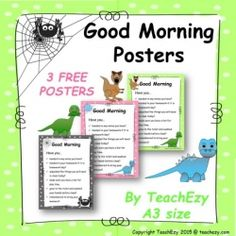 Good Morning Classroom Poster
