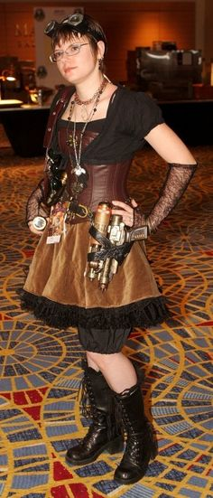 Steampunk Boots and Steampunk Costume 2