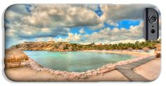 iPhone Cases - Cool Curacao iPhone Case by Nadia Sanowar