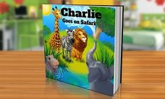 One Personalized Softcover or Hardcover Children's Book from Dinkleboo Starting at $5