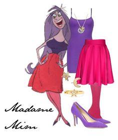 """Madame Mim"" by disneylamb ❤ liked on Polyvore"