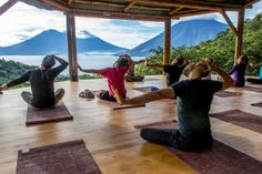 Guatemala. 8 Beautiful Yoga Retreats From Around the World Credit: The Yoga Forest