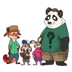 The gravity falls cast as Zootopia awwwwww they're so cute!!!!! Soos is sooo FLUFFY!!!!!!! And omg the twins are adorable!! And Wendy!!! Omg Wendy is sooo Cute!!!! #zootopia #soos #cute #wendy #dipperpines #wendypines #Mabelpines