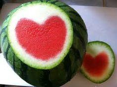 frutas corazon