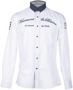 G Boys Shirts, Sports Shirts, Mens Designer Shirts, Moda Casual, Men Wear, Monograms, Casual Shirts For Men, Chef Jackets, Shirt Designs