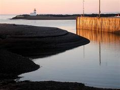 Parrsboro Harbour at Dawn, Parrsboro, Nova Scotia this town has some of the lowest and highest tides at Landscape Paintings, Landscapes, Cumberland County, High Tide, The Province, Places Of Interest, Nova Scotia, Dawn, Canada