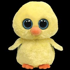 I'm Goldie, the yellow chick.