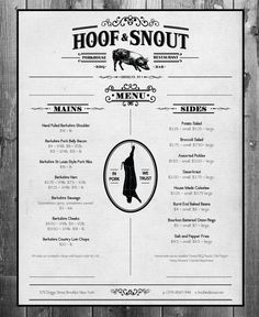 Hoof & Snout on Behance