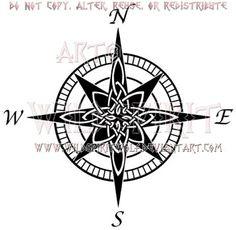 Celtic Compass Rose Design by WildSpiritWolf on DeviantArt