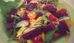 Salada mix.