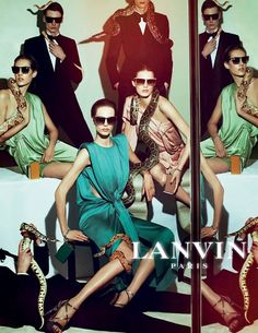 AD CAMPAIGN Lanvin Spring/Summer 2012 by Steven Meisel