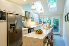 Check out Glenda and Dave's stylish kitchen renovation on Property Brothers, featuring Frigidaire appliances with Smudge-Proof Stainless Steel.