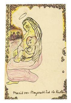Else Lasker-Schüler,Maria von Nazareth und ihr Kindle, 1913