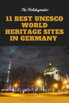 12 Best UNESCO World Heritage Sites in Germany • Dream Plan Experience Travel Through Europe, Travel Tips For Europe, Travel Guide, Cities In Germany, Germany Travel, Aachen Cathedral, Museum Island, European Road Trip, European Destination