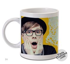 Fall Out Boy Patrick Stump mug. I WANT THIS SO BAD. Why are you people pinning this so much. 142 repins I've felt like I've accomplished something. This is the most repins any pin of mine has ever gotten.202 PINS AND 83 LIKES MY GOD YOU GUYS.