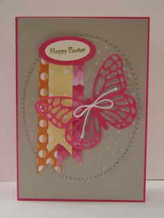 """Welcome to another fun Just Add Ink challenge.  This week as """"Easter"""" is fast approaching, we thought it would be fun to """"Just Add Eggs or Ovals""""... Here is my card: What better time to use this..."""
