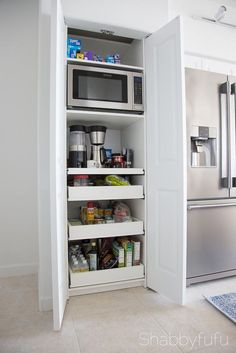 After seeing what she does to her cabinet, you may never store your kitchen stuff the same way again!