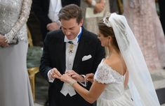 Princess Madeleine and Chris O'Neill's royal wedding: best moments