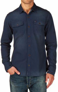 Tommy Hilfiger Men's Beckham Shirt L/S Long Sleeve Shirt on shopstyle.co.uk