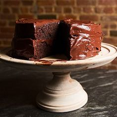 Make this old-school chocolate layer cake, and turn any meal into an event.