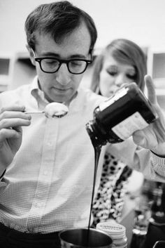 Woody Allen. He is slightly somewhat unnerving but his movies are great. Particularly Match Point, Midnight in Paris, and Annie Hall.