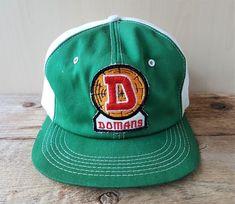 febd9ad8daaab Vintage 80s DOMANS LUMBER Co. Forestry Trucker Hat Snapback Baseball Cap K  Brand