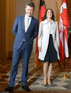 Busy schedule: The Royal couple were also at the Residence earlier in the day after arrivi...