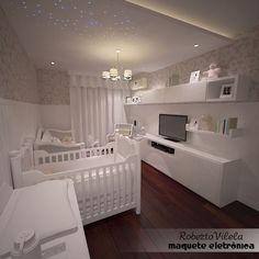 Chambre de bébé - sans la télé....
