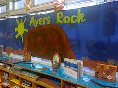 Ayers Rock - Australia classroom display