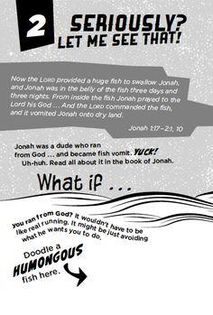 Sample page from Dare U 2 Open This Book - devotional for tween boys (Zonderkidz, September 2014)