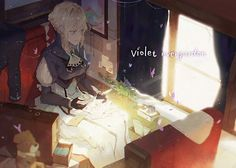 Sad Anime, Manga Anime, Anime Art, Violet Evergreen, Violet Evergarden Anime, Kyoto Animation, Best Waifu, Kawaii Girl, Light And Shadow