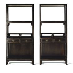 A SUPERB PAIR OF TIELI WOOD BOOKSHELVES<br>17TH CENTURY | lot | Sotheby's Painting Old Furniture, Cabinet Furniture, Living Furniture, Cool Furniture, Modern Furniture, Furniture Design, Furniture Stores, Built In Bar Cabinet, Antique Shelves