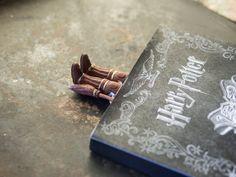 Harry Potter book marker. Quidditch bookmark