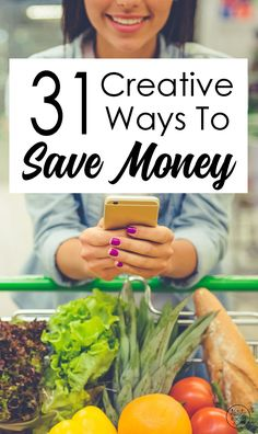 31 Creative Ways To Save Money by Natalie Bacon