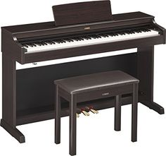 Yamaha YDP163R Arius Series Console Digital Piano with Bench, Rosewood ** See this great product.