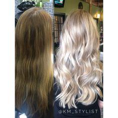 Washed Out To Balayage Blonde | Modern Salon