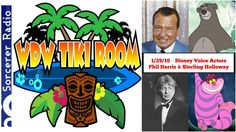 WDW Tiki Room: 1/29/10 – Disney Voice Actors Phil Harris and Sterling Holloway