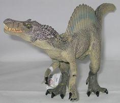 The Papo Spinosaurus dinosaur model, one of Everything Dinosaur's favourite Theropod dinosaur models.