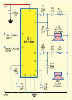 Laptop Audio Amplifier