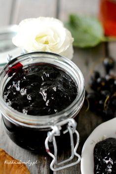 czarne-porzeczki Jam Recipes, Chocolate Fondue, Pudding, Fruit, Desserts, Food, Gelee, Lawn And Garden, Postres