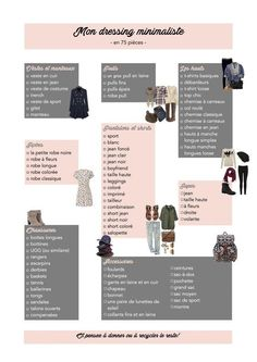 15 simple tips for efficient spring sorting of your clothes Minimalist Wardrobe, Minimalist Fashion, Looks Style, Style Me, Hair Style, Top Chic, Fashion Tag, Womens Fashion, Fashion Boots