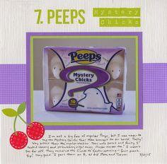 Cindy deRosier: My Creative Life: 43 New-to-Me... #7 Peeps Mystery Chicks