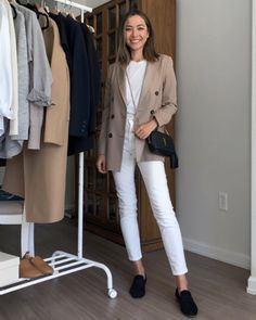 5 Business Casual Outfit Ideas [Styling Pieces from Your Capsule Wardrobe] - LIFE WITH JAZZ